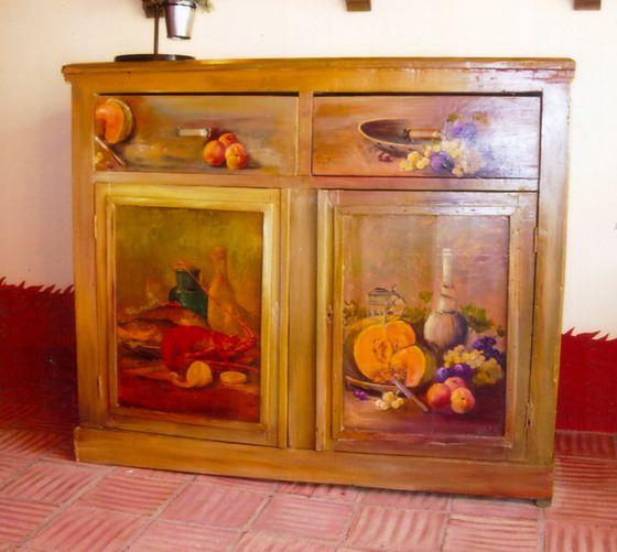 meuble ancien cuisine
