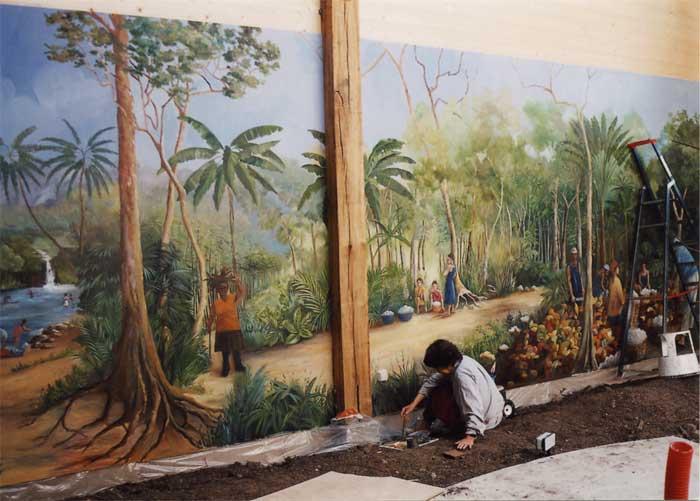 Trompe L Oeil Mural Interieur Amazing Baero Peinture