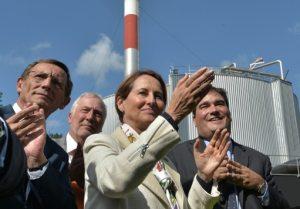 La ministre de l'Ecologie Ségolène Royal