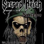 [24-11-2019]Sacred Reich + Night Demon