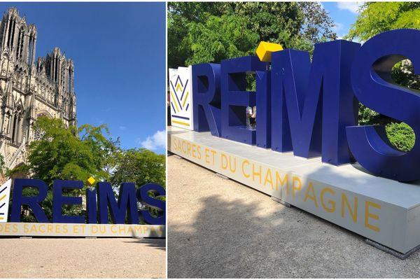 reims s affiche en toutes lettres au