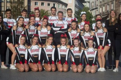 Cheerleaders from Souffelweyersheim in the USA, cradle of self-discipline, to compete within the World Cup