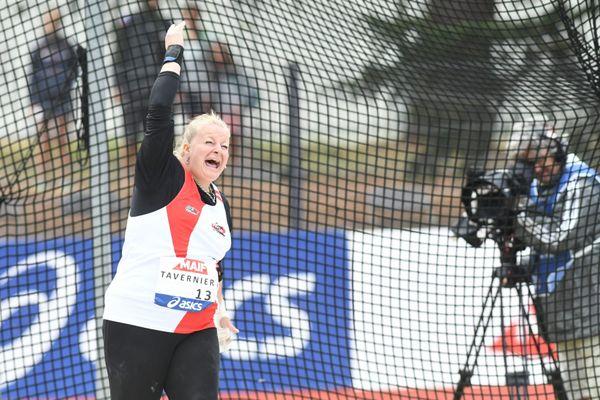 Alexandra Tavernier, during the 2019 French Championship.