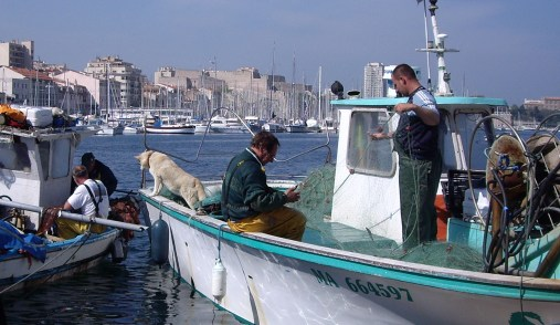Les pêcheurs marseillais