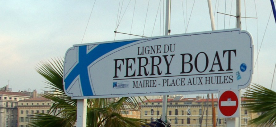 Le ferry boat - Marseille