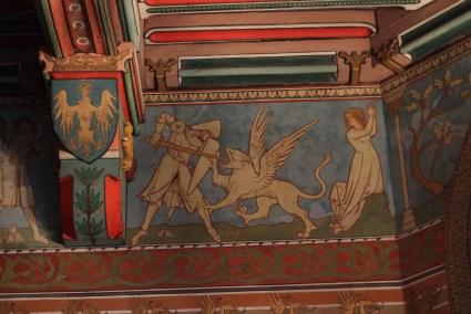 Chambre du seigneur (détail du plafond) - © https://franceetmerveilles.wordpress.com - Tous droits réservés