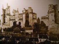 Château de Pierrefonds avant les travaux de restauration vers 1850 - © https://franceetmerveilles.wordpress.com - Tous droits réservés