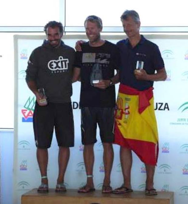 Championnats d'Europe Raceboard 2015 / Cadix - Champion d'Europe : Nicolas HUGUET (CN La Pelle - Marseille)