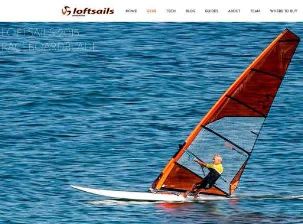 Lolfsails Raceboard Blade