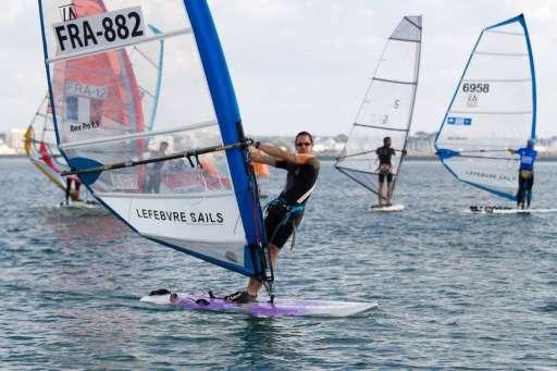 Les Rhône-alpins aux championnats de France Raceboard
