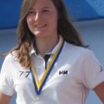 Léa VANBESELAERE, représentante FRA U23 aux championnats du monde.