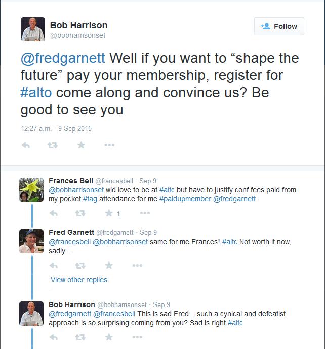 Bob Harrison tweet