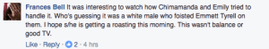 My Facebook Comment