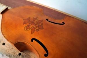 Viola Tenor Rose 1598 eduardo frances bruno luthier