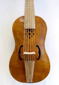 Eduardo Frances Bruno Luthier treble renaissance viol