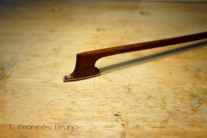 Eduardo frances bruno luthier classical viola bow John dodd head