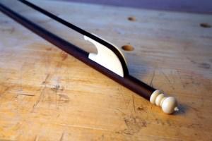 Eduardo frances bruno luthier bass viol langham bow nut