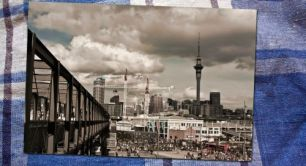 Auckland Postcards Project