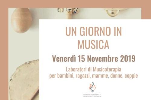 Un Giorno in Musica – 15 Novembre 2019