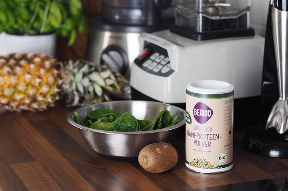 Hanfprotein Pulver Supplements
