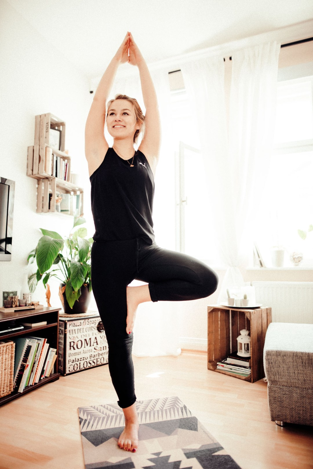 Gym oder Homeworkout? - die beste Yoga-App