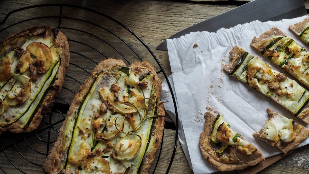 Zucchini Flammkuchen