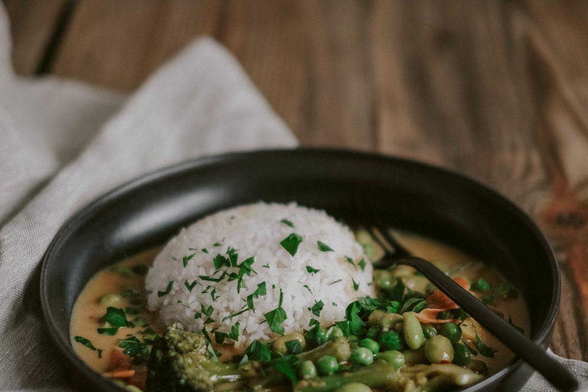 Erdnuss Curry