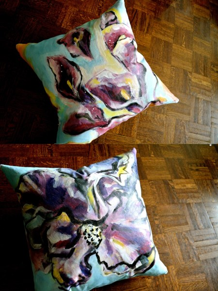Special order for throw pillow covers. 2014.