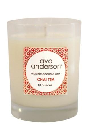 chai candle detail 10 oz