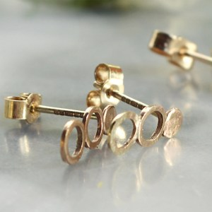 Cerchi Ethical Gold Studs