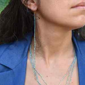 Ripples of Water Drop Earring