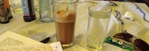 frappe and sweets