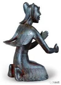 11922243_西汉羽人铜像