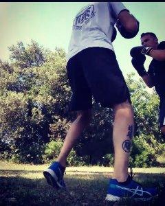 Francesco Dal Pino sandro Cardelli Dojo Ruan boxing