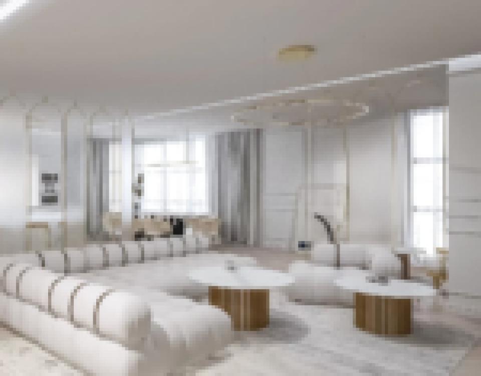 Sypialnia jasna modern8 - Dom w stylu modern loft - Wrocław