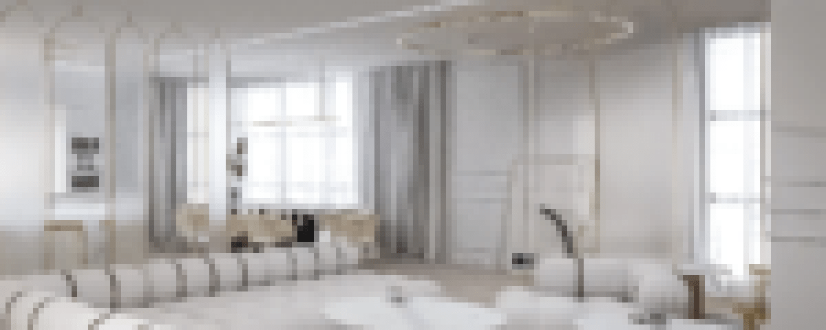 Apartament szary nowy1 - Apartament w stylu klasycznym - ciemny - Warszawa