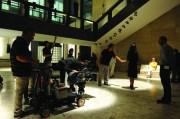 """Toni Servillo, Paolo Sorrentino e Sabrina Ferilli sul set del film di Paolo Sorrentino, """"La grande bellezza"""" (foto di Gianni Fiorito)"""