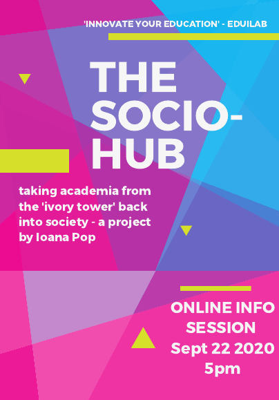 Looking for participants in the Socio-Hub project