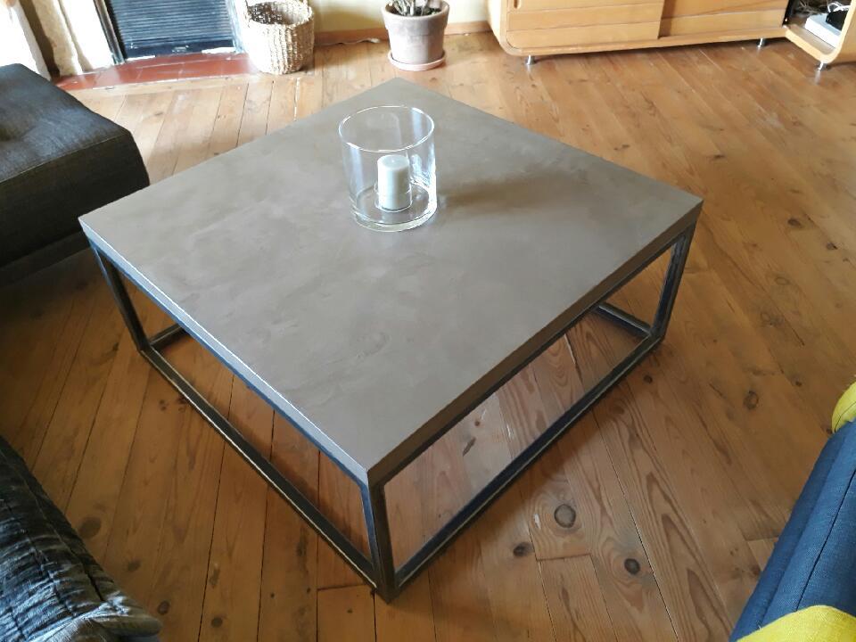creation table basse beton cire francesco