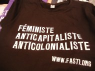 T-shirts ruled; 27 March 2013; photo by Frances Hasso