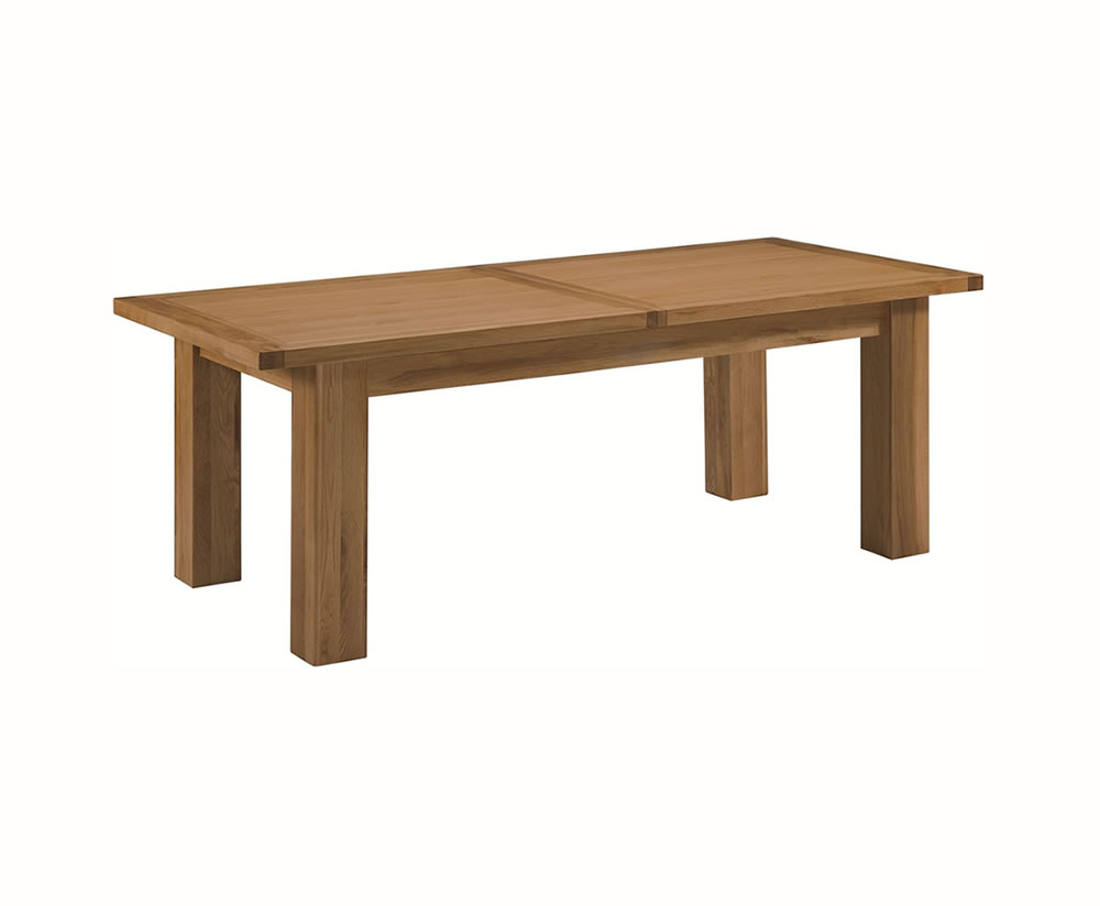 Dining Table: Extra Large Oak Dining Table