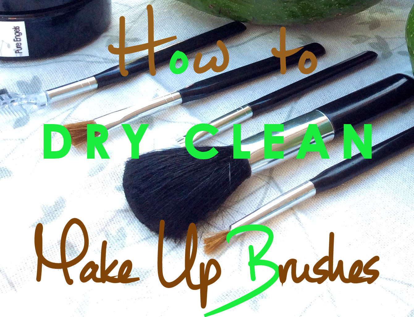 Clean Make Up Brushes: Natural Dry Clean - France's ...