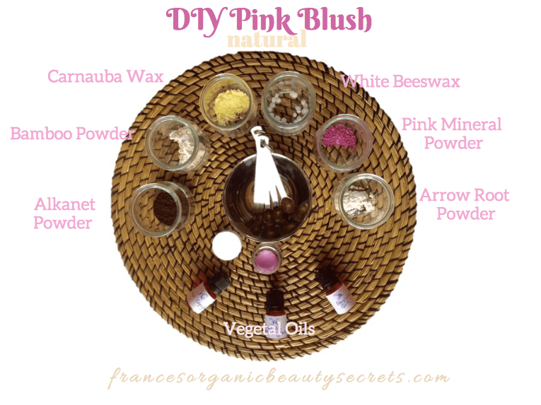 diy-pink-blush-ingrediens