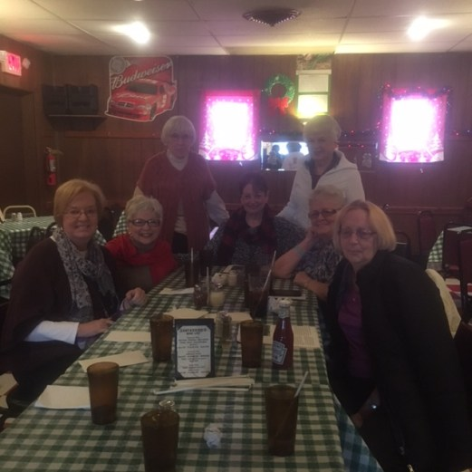 A small group get-together of Fred's Friends at Saniserio's on Niagara