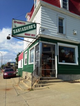 Santasierio's Restaurant, 1329 Niagara Street. A local favorite on the West Side of Buffalo and friend of Fred!