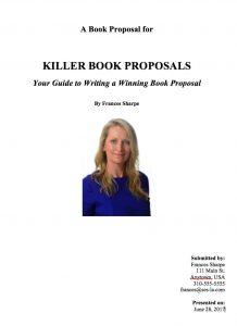 Killer Book Proposals – Frances Sharpe