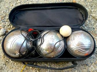 boules set open
