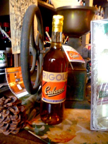 Rigolo...the name means funny. It's a vermouth.
