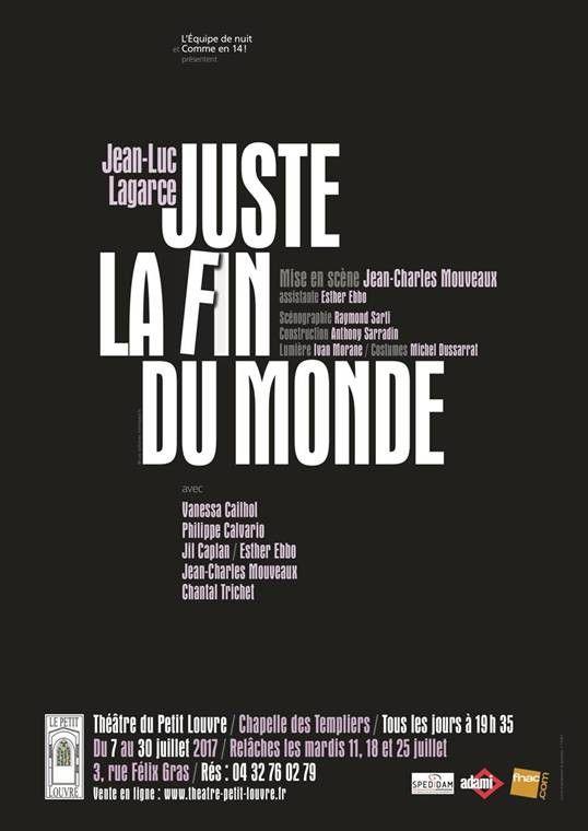 Juste La Fin Du Monde Theatre : juste, monde, theatre, Juste, Monde
