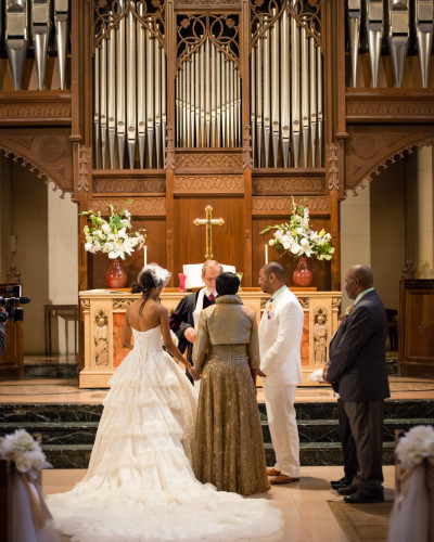 Small Church Wedding